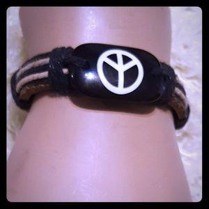 Jewelry - Unisex Peace Bracelet